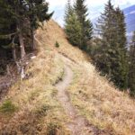 Schmaler Gratweg
