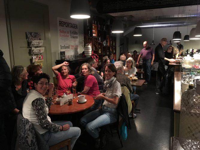 Auftritt bei CafeBar Simpel
