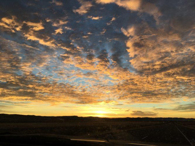 Sonnenaufgang in Idaho