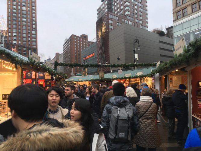 Weihnachtsmarkt New York