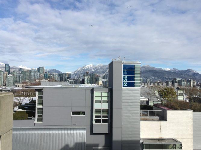 Blick von unserer Wohnung