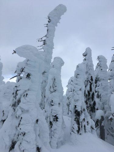 Schneeskulptur