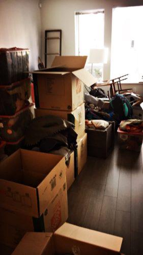 Und alles in der neuen Wohnung