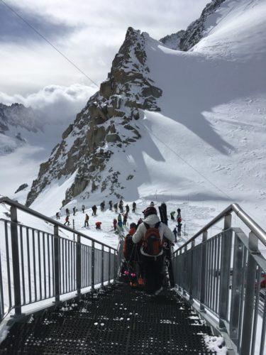 Gondelausstieg