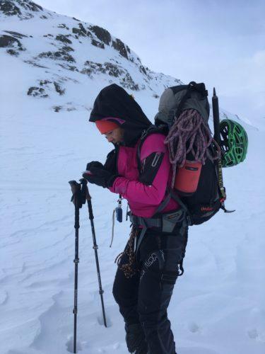 Navigation in der Kälte
