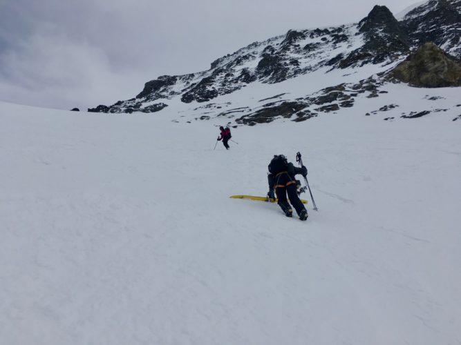Ski verloren