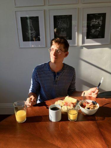 Frühstücksidylle